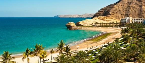 Pláže v Ománu